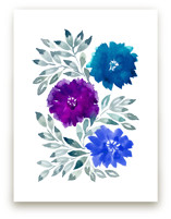 hand painted flowers_3I by aticnomar