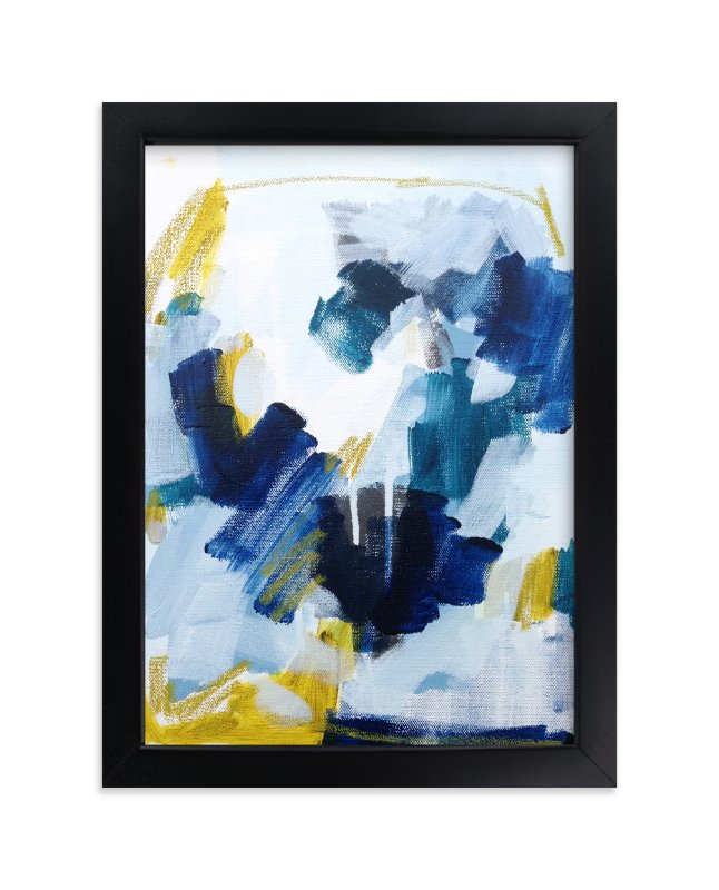 """""""Swimmingly"""" - Art Print by Katie Craig in beautiful frame options and a variety of sizes."""