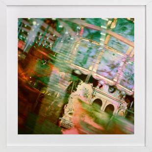 Carousel at Tilden Park  Art Print