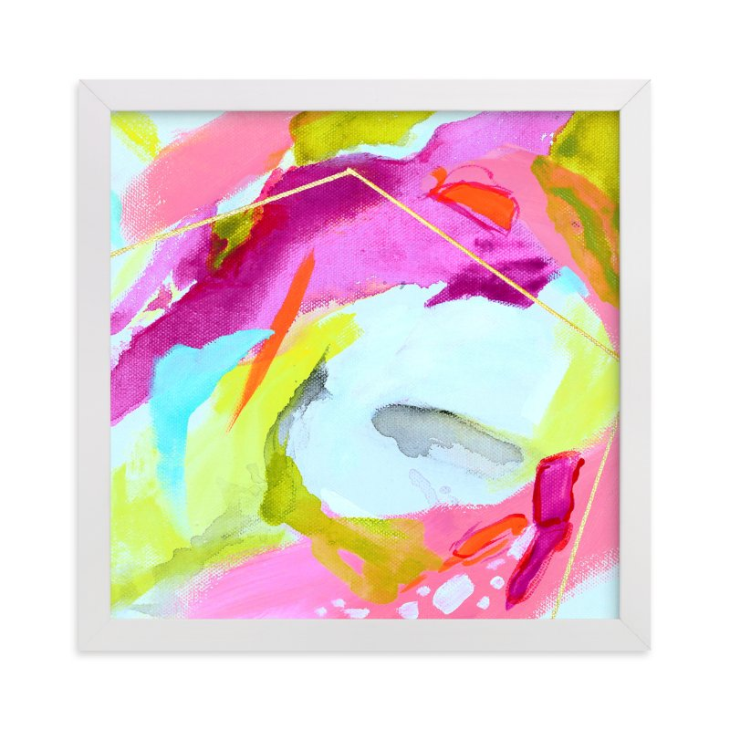 """""""Fresh Squeezed #2"""" - Art Print by Mya Bessette in beautiful frame options and a variety of sizes."""