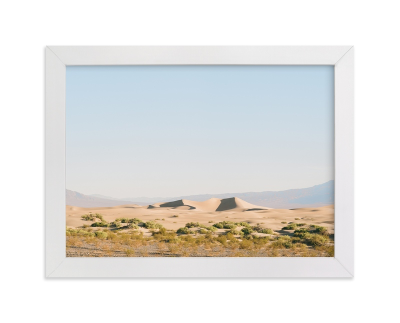 """""""Desert Dunes"""" - Art Print by Anna Western in beautiful frame options and a variety of sizes."""