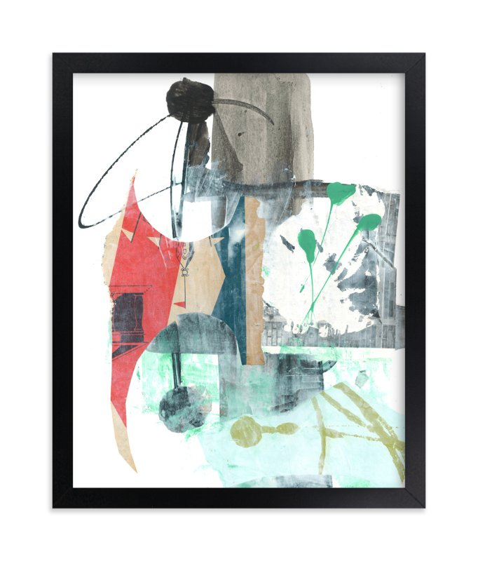 """""""Coattail"""" - Art Print by Misty Hughes in beautiful frame options and a variety of sizes."""