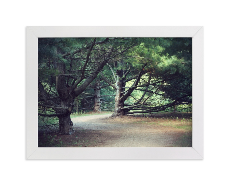 """""""The Haunted Wood"""" - Art Print by Gray Star Design in beautiful frame options and a variety of sizes."""
