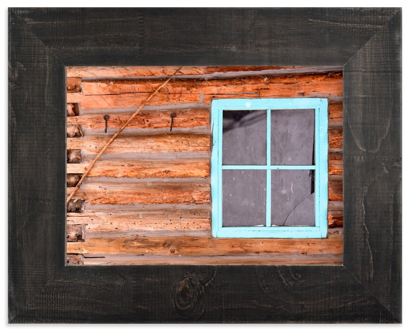 """Broken Window"" - Art Print by Leslie Le Coq in beautiful frame options and a variety of sizes."