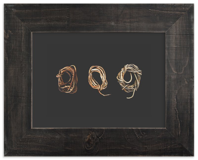 """""""Loosely Tied"""" - Art Print by Honey Madison in beautiful frame options and a variety of sizes."""