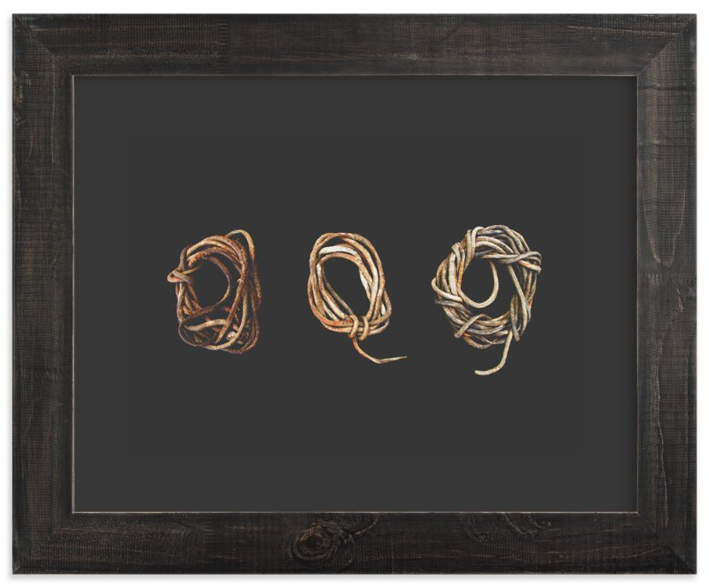 """Loosely Tied"" - Art Print by Honey Madison in beautiful frame options and a variety of sizes."