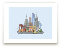My love for new york Wall Art Prints