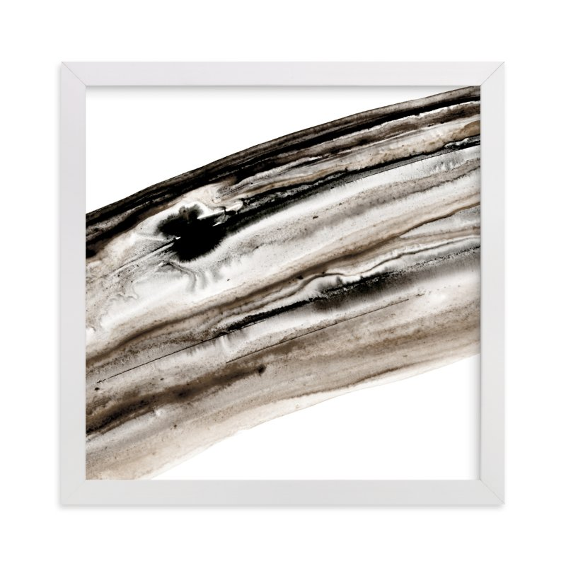 """Bark"" - Art Print by Michelle Waldie in beautiful frame options and a variety of sizes."