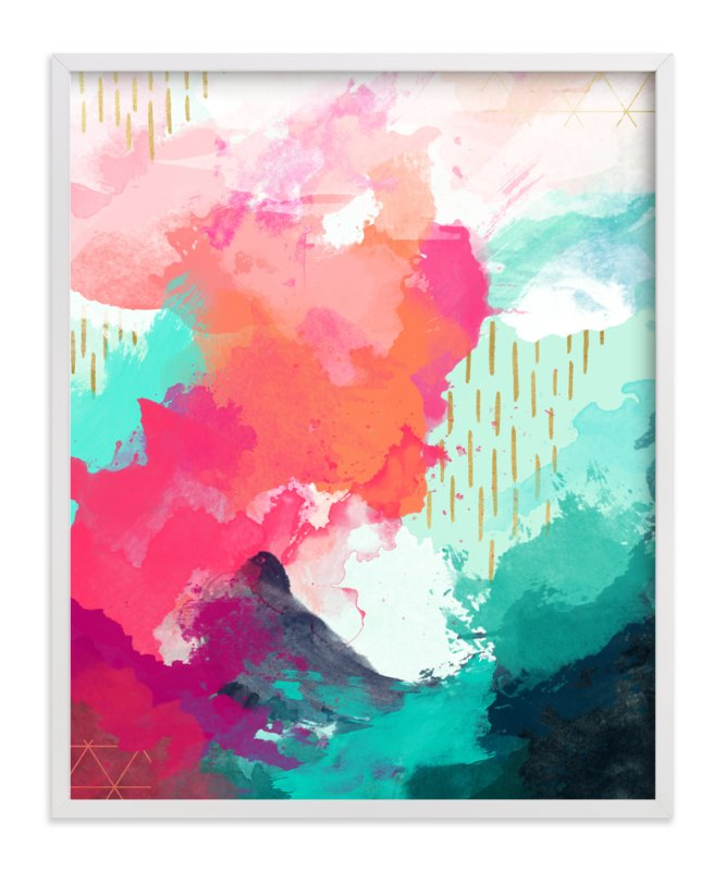 """""""The Storm Before the Calm"""" - Art Print by Jess Phoenix in beautiful frame options and a variety of sizes."""