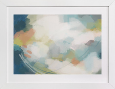 Flight into Bliss  Art Print