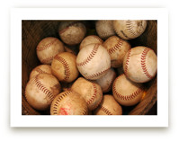 Antique Baseballs by Elemental