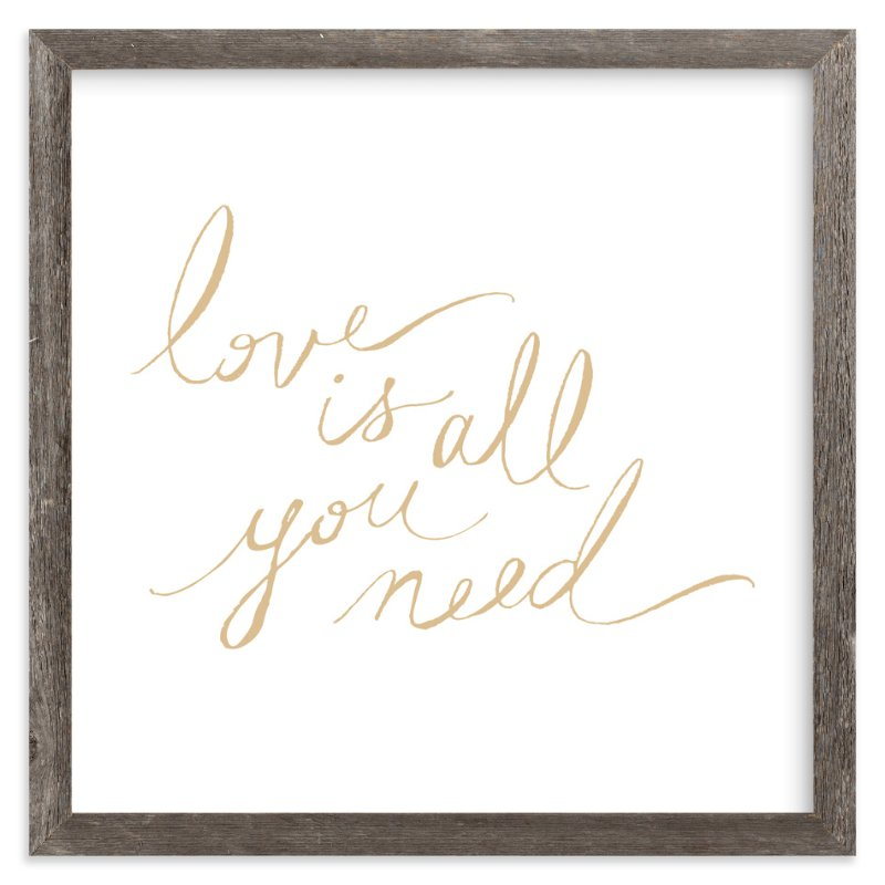 """""""Love Lyrics"""" - Art Print by rose lindo in beautiful frame options and a variety of sizes."""