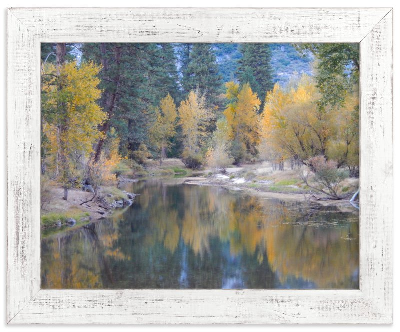 """Yosemite Fall"" - Art Print by Jan Kessel in beautiful frame options and a variety of sizes."