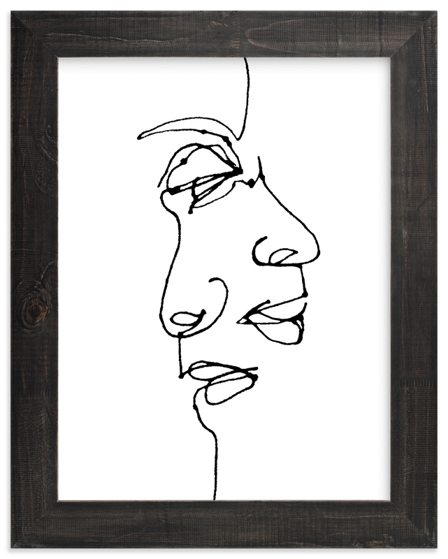 """""""point of view"""" - Art Print by R studio in beautiful frame options and a variety of sizes."""