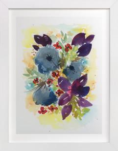 All the Flowers  Art Print