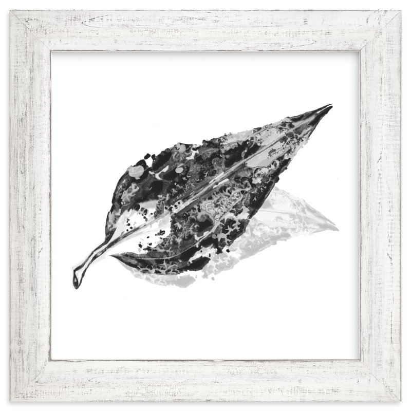 """""""Abstract Leaf"""" - Art Print by CaroleeXpressions in beautiful frame options and a variety of sizes."""