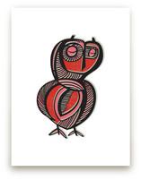 Sleepy Owl by Gill Eggleston