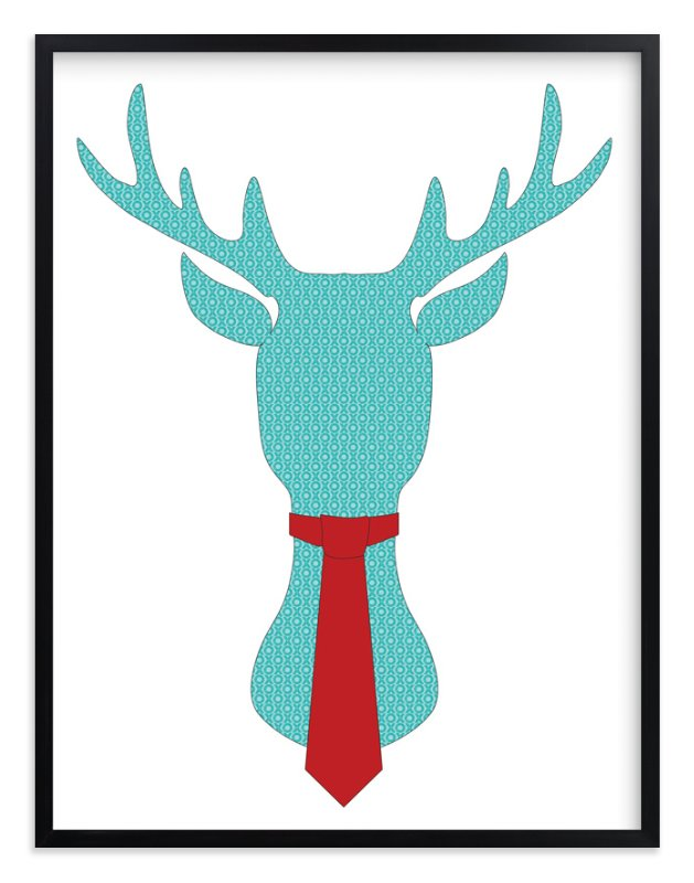 """""""Mr Dear"""" - Art Print by LemonBirch Design in beautiful frame options and a variety of sizes."""