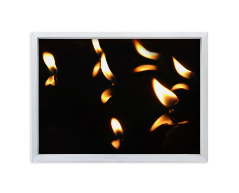 """Candlelights"" - Art Print by Belia Simm in beautiful frame options and a variety of sizes."