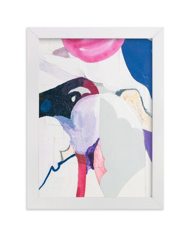 """Papers No. 28.2"" - Art Print by Erin McCluskey Wheeler in beautiful frame options and a variety of sizes."