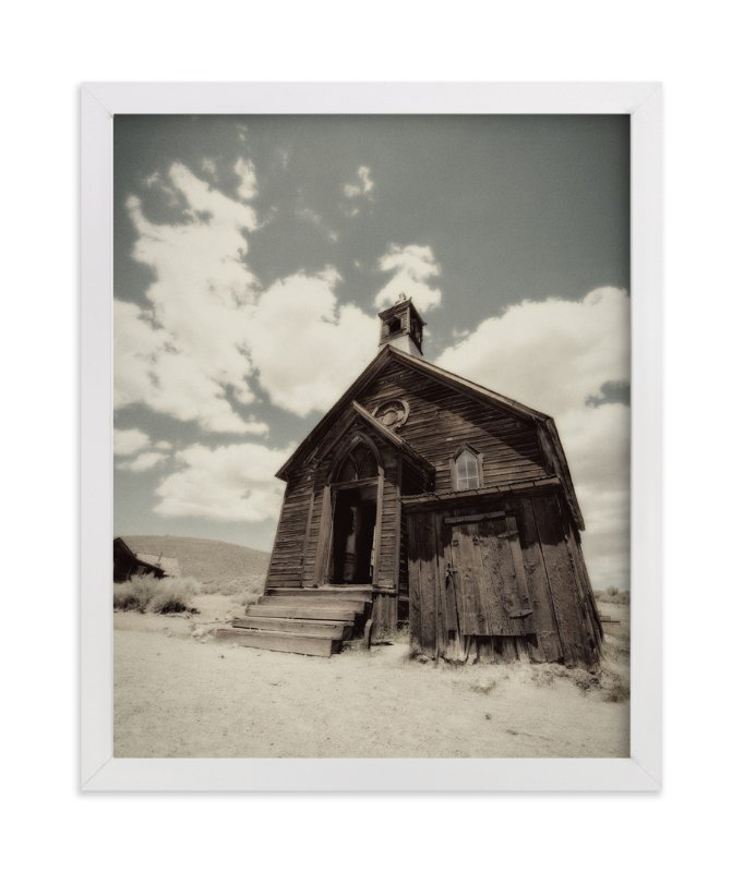 """Buildings of Bodie, CA :: I"" - Art Print by Kellie Medivitz in beautiful frame options and a variety of sizes."