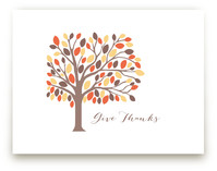 Give Thanks Tree by Rebecca Lowe