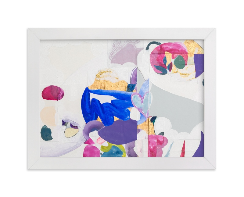 """""""Papers No. 28.1"""" - Art Print by Erin McCluskey Wheeler in beautiful frame options and a variety of sizes."""