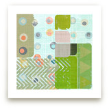 Mid Century Abstract by Amy Lighthall