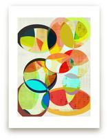 Mid Century Circles  by Amy Lighthall