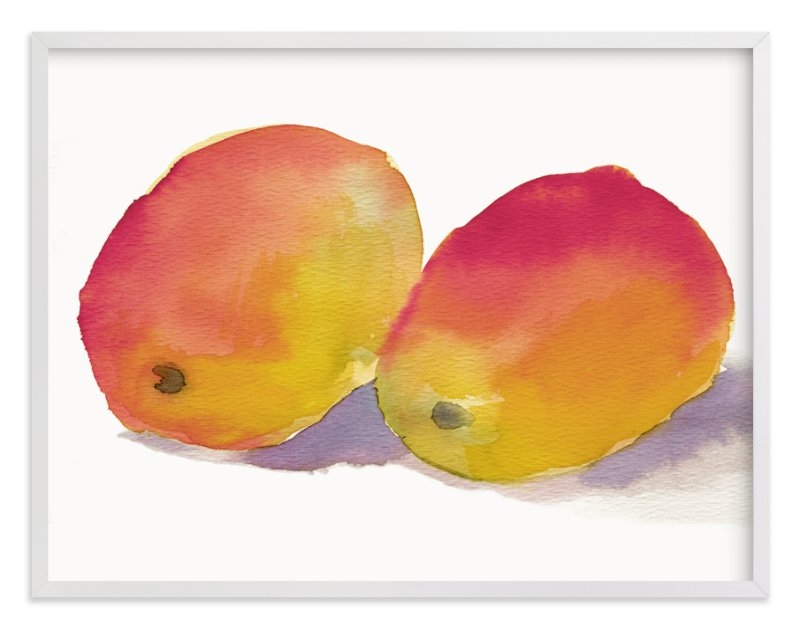 """""""Marvelous Mangos"""" - Art Print by Me Amelia in beautiful frame options and a variety of sizes."""
