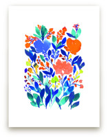 hand painted flowers_5h by aticnomar