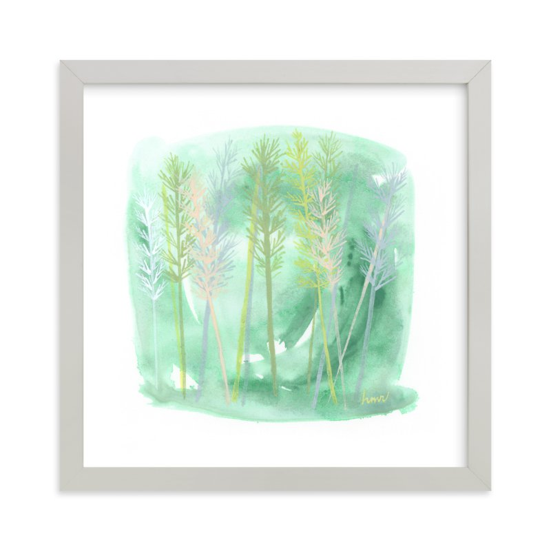 """""""Botanical Grasses"""" - Art Print by Heather M. Roberts in beautiful frame options and a variety of sizes."""