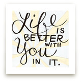 Life Is Better by Amanda Paulson