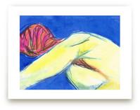 Figure in the Blues by Miranda Mol