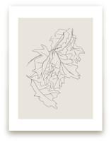 Oak Leaf Study by Lorent and Leif
