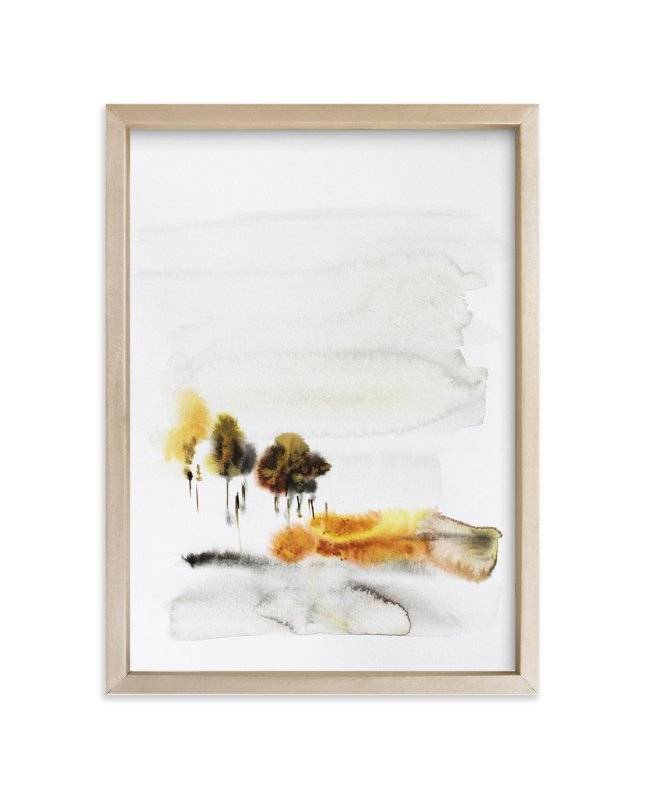 """""""November Rain"""" - Art Print by Karen Kaul in beautiful frame options and a variety of sizes."""