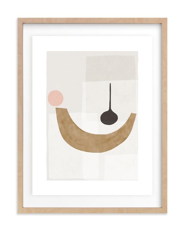 The Balancing 1 Marketplace Art Print