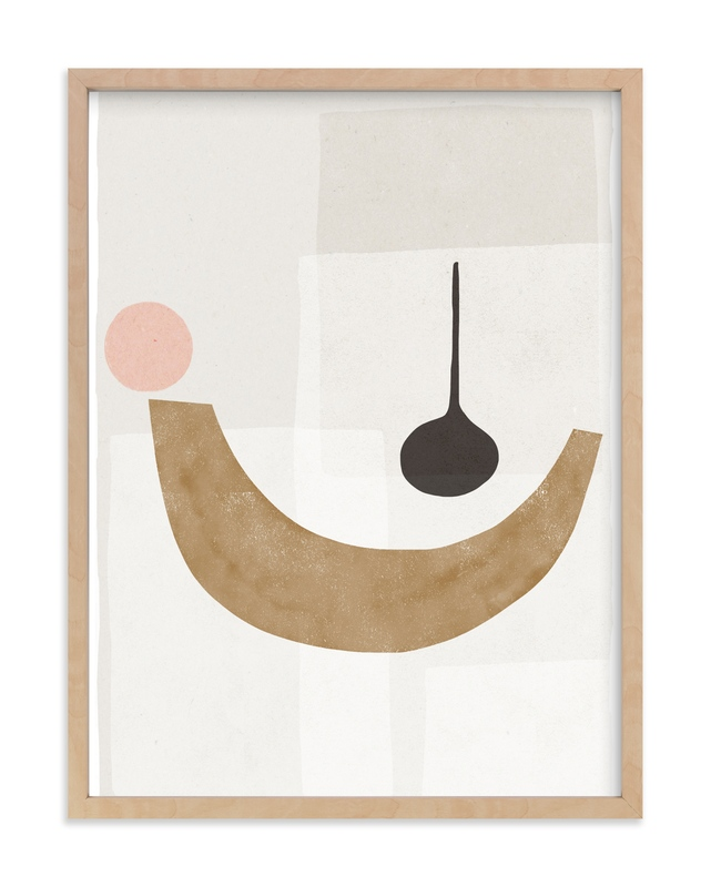 """""""The Balancing 1"""" - Art Print by Francesca Iannaccone in beautiful frame options and a variety of sizes."""