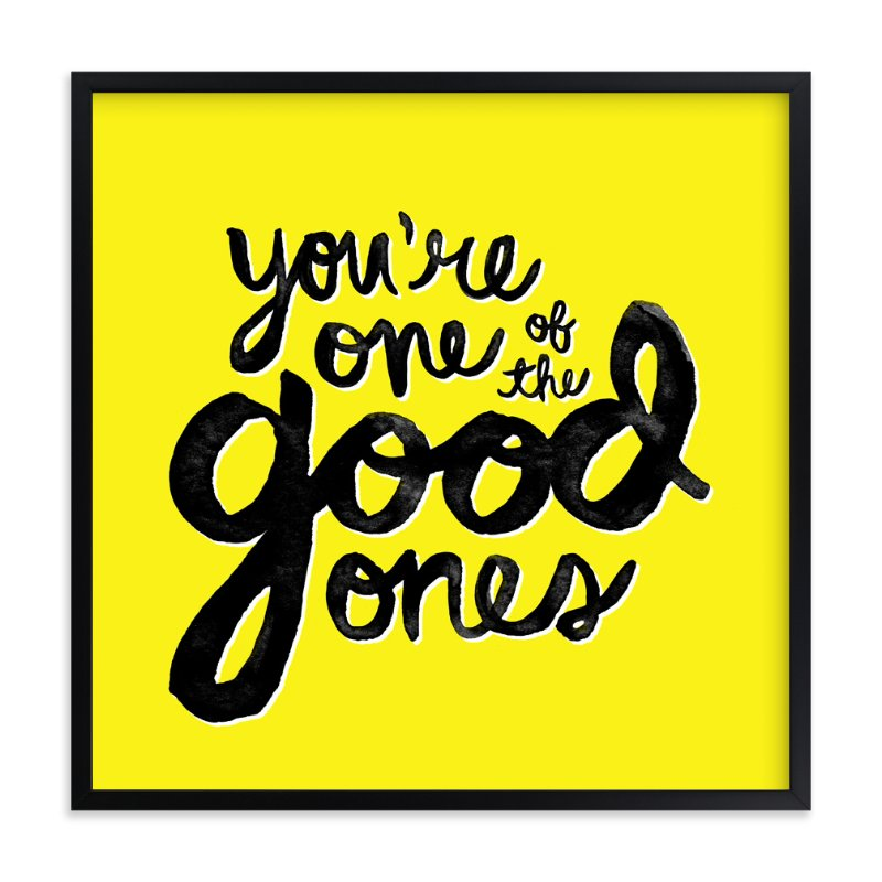"""""""The Good Ones"""" - Art Print by Melissa Egan of Pistols in beautiful frame options and a variety of sizes."""