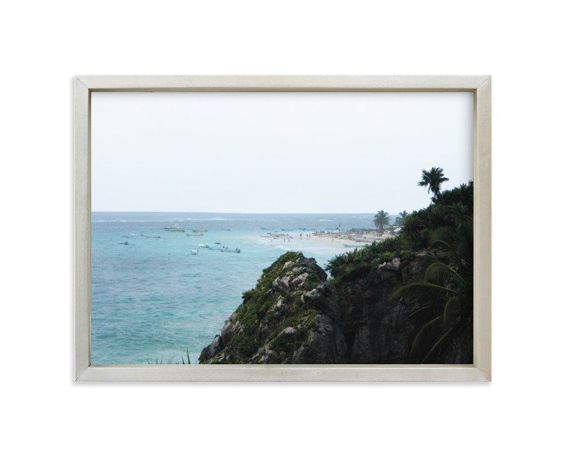 """""""The Coast"""" - Art Print by Kelsey McNatt in beautiful frame options and a variety of sizes."""