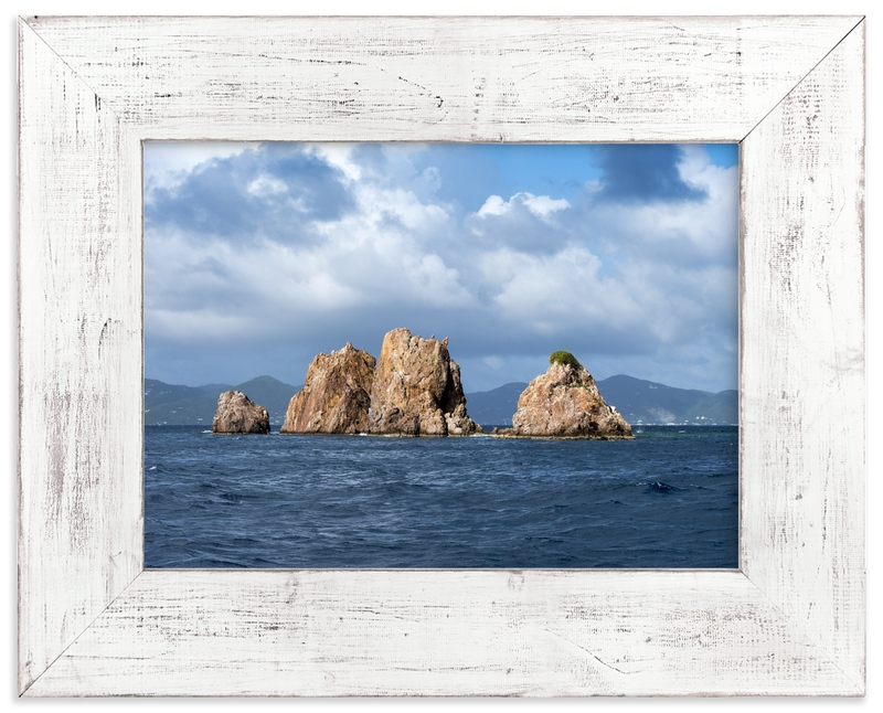 """Land Ahoy!"" - Art Print by Hannah Graham in beautiful frame options and a variety of sizes."