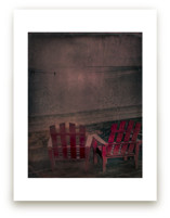 Two Red Chairs by Andy Mars