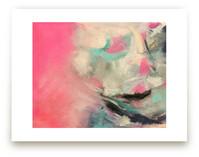Warm Is Winning Abstrac... by Melanie Biehle