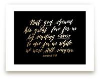 Romans 5:8 by aticnomar
