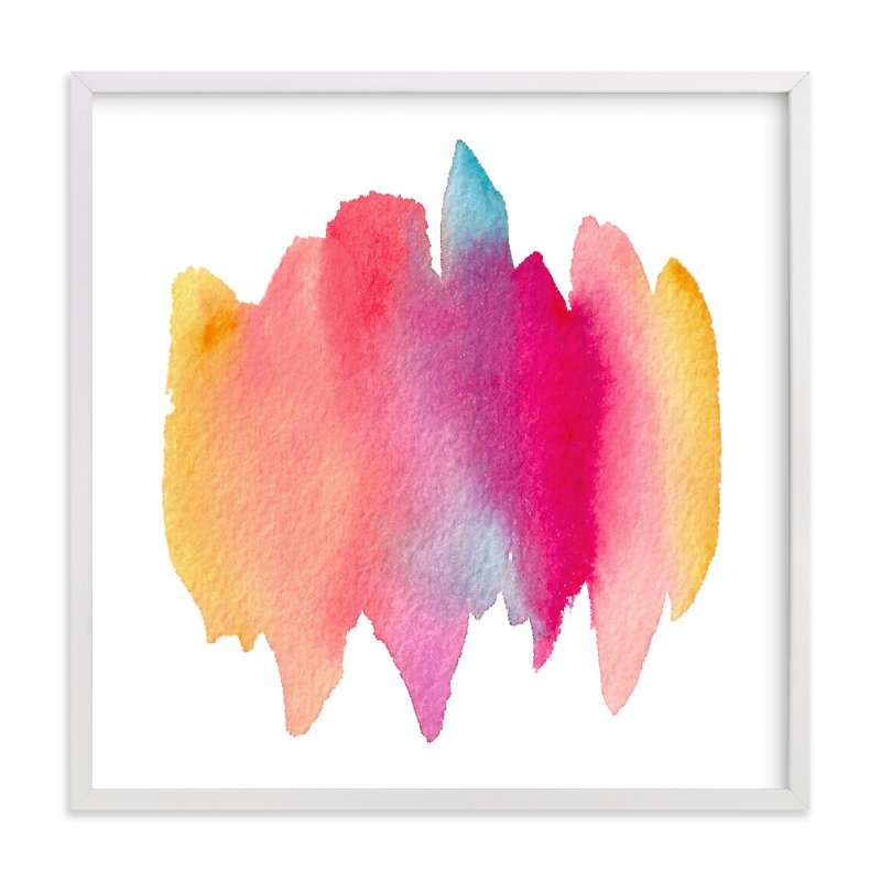 """""""Color Melt"""" - Art Print by sue prue in beautiful frame options and a variety of sizes."""