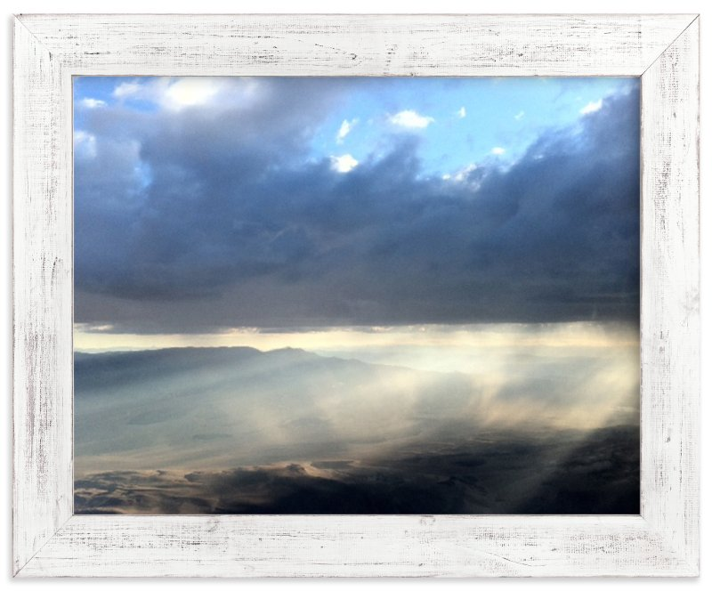 """""""Desert Light and Clouds"""" - Art Print by Jeff Vilkin in beautiful frame options and a variety of sizes."""
