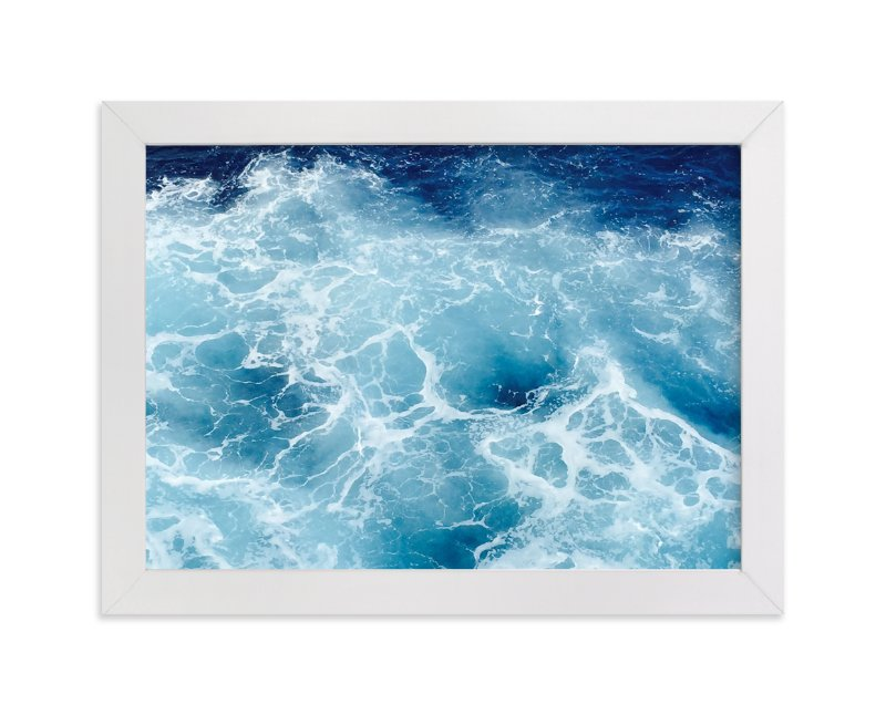 """""""Having the Blues"""" - Art Print by CaroleeXpressions in beautiful frame options and a variety of sizes."""