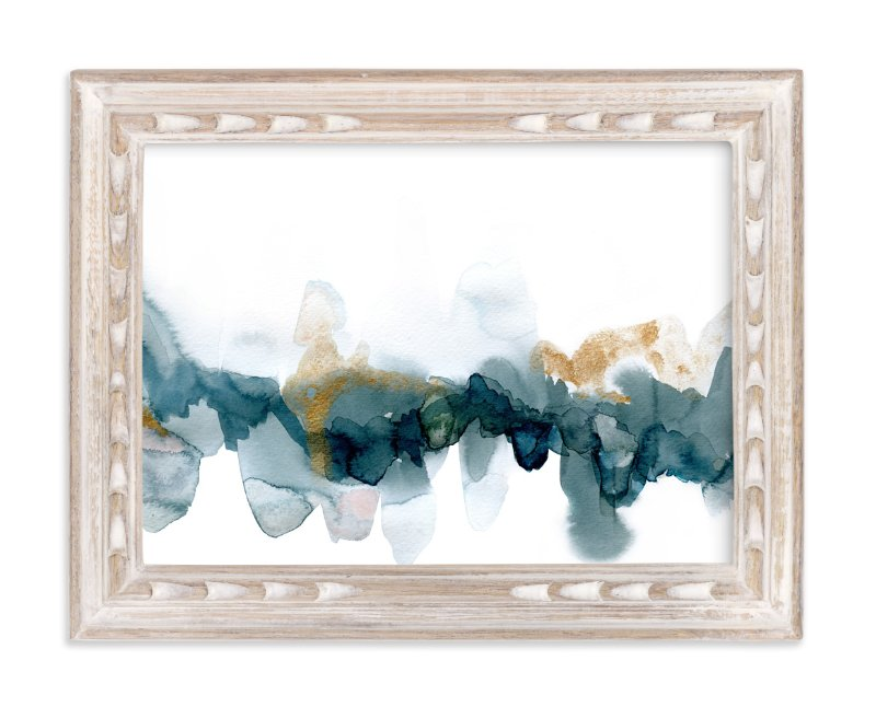 """Fractured Horizon 1"" - Art Print by Melanie Severin in beautiful frame options and a variety of sizes."