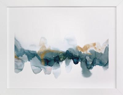 Fractured Horizon 1  Art Print