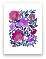 hand painted flowers_5f by aticnomar